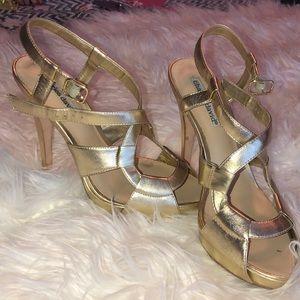 Charles David Gold heels